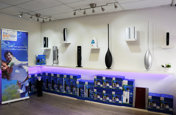 Showroom Progenion Nederland